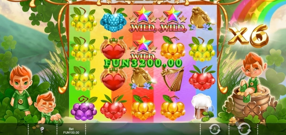Rainbow Wilds Slot Online