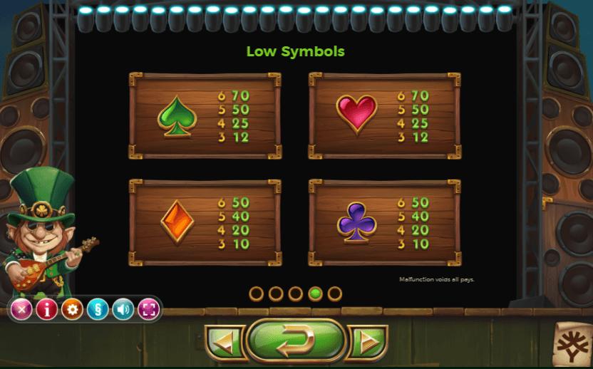 Rainbow Ryan Slot Symbols