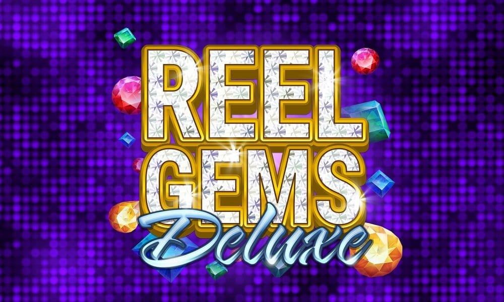 Reel Gems Deluxe Slot Logo Slots Racer