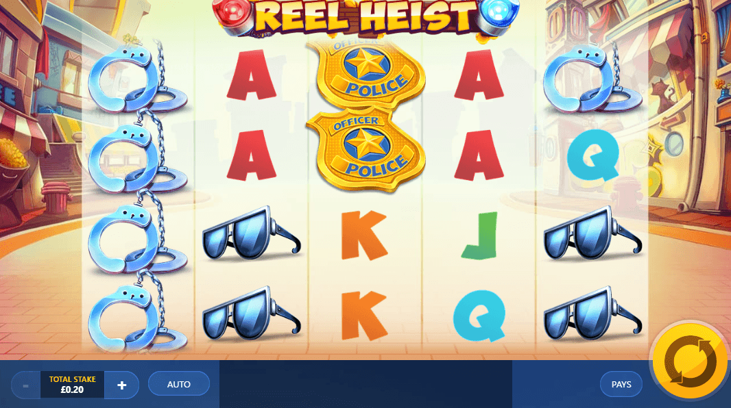 Reel Heist Online Slot Game