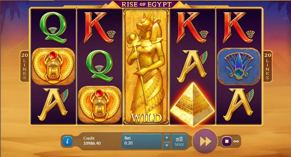 Rise of Egypt Free Slots