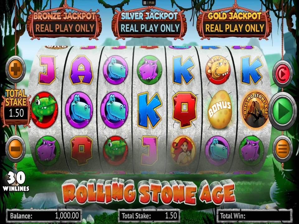 Rolling Stone Age Slots Game