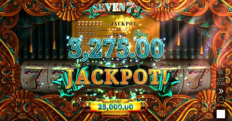 Seven 7s Slots Jackpot