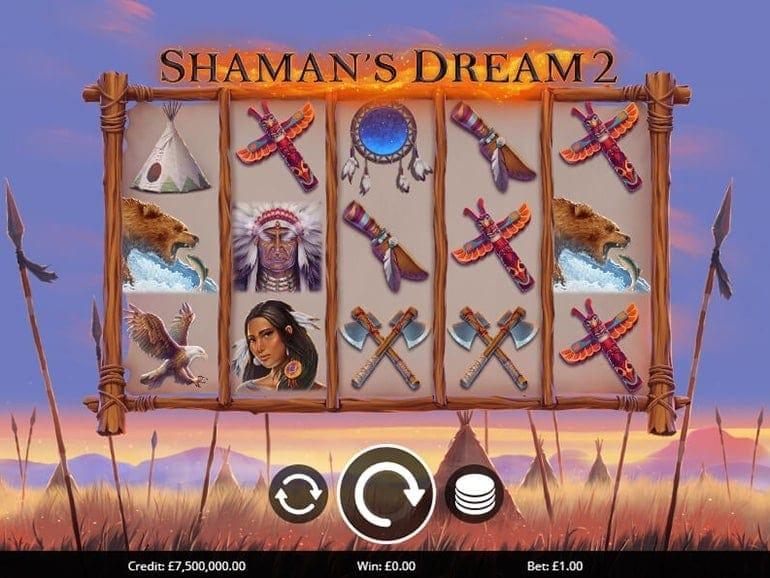 Shaman's Dreams 2 Slots Reel