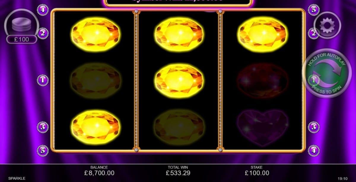 Sparkle Slots Online