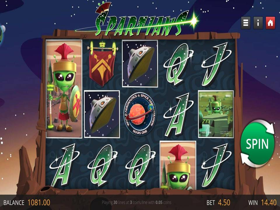 Spartians Slots Game