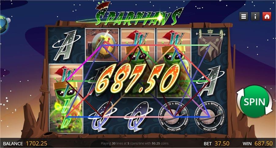 Spartians Slot Online