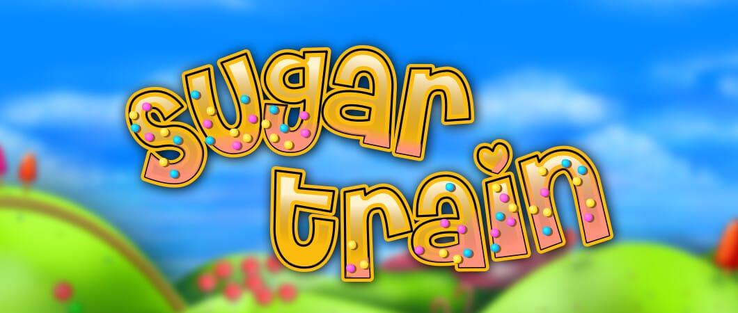 Sugar Train logo slot game