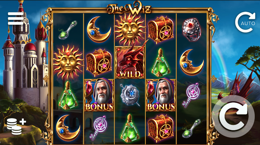 The Wiz Slots Game