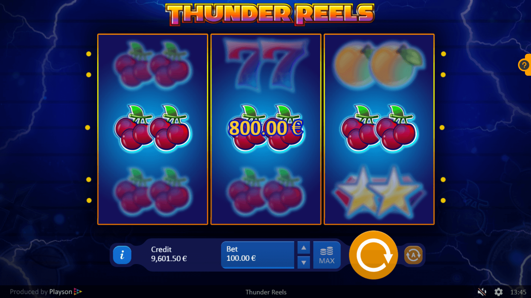 Thunder Reels Slots Uk