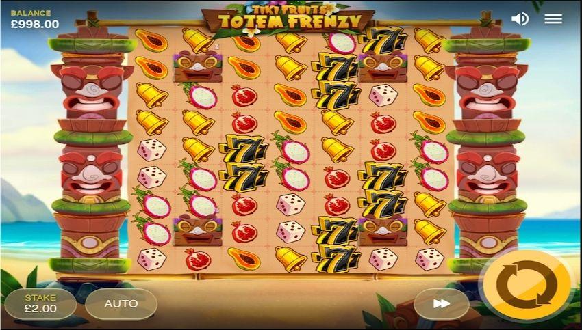 Tiki Fruits Totem Frenzy Slot Gameplay