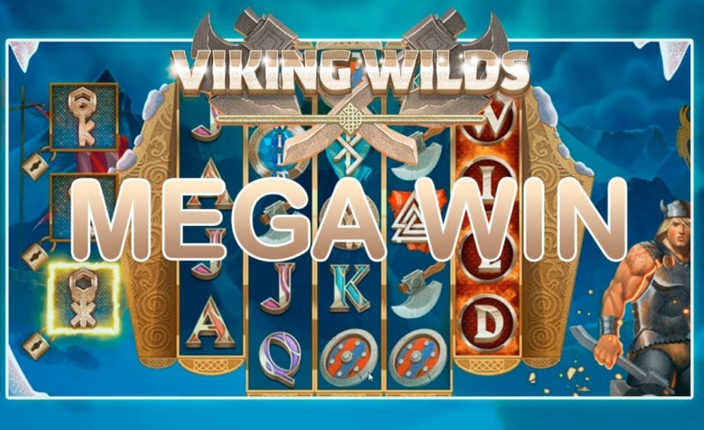 Viking Wilds Slot Big Win