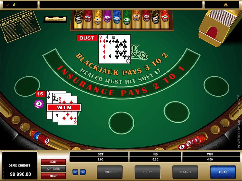 Vegas Downtown Blackjack Game