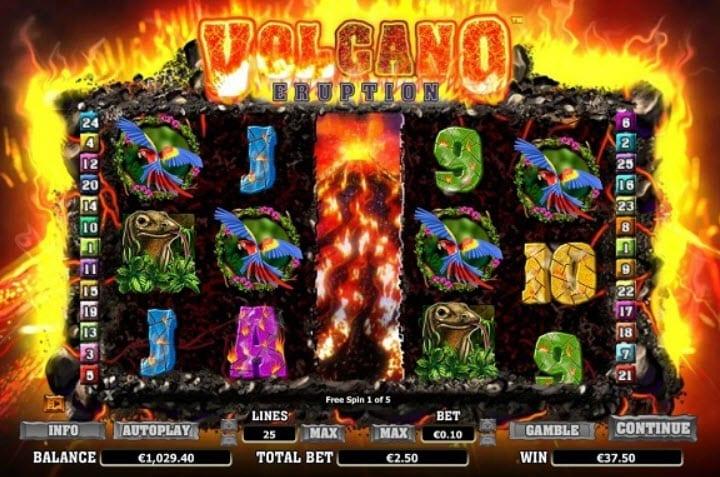 Volcano Eruption Slot Online