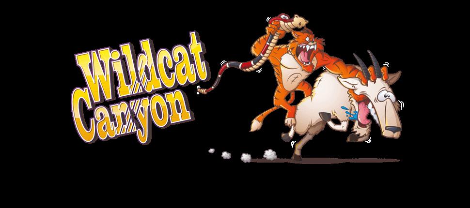 Wildcat Canyon Slot Logo Slots Racer