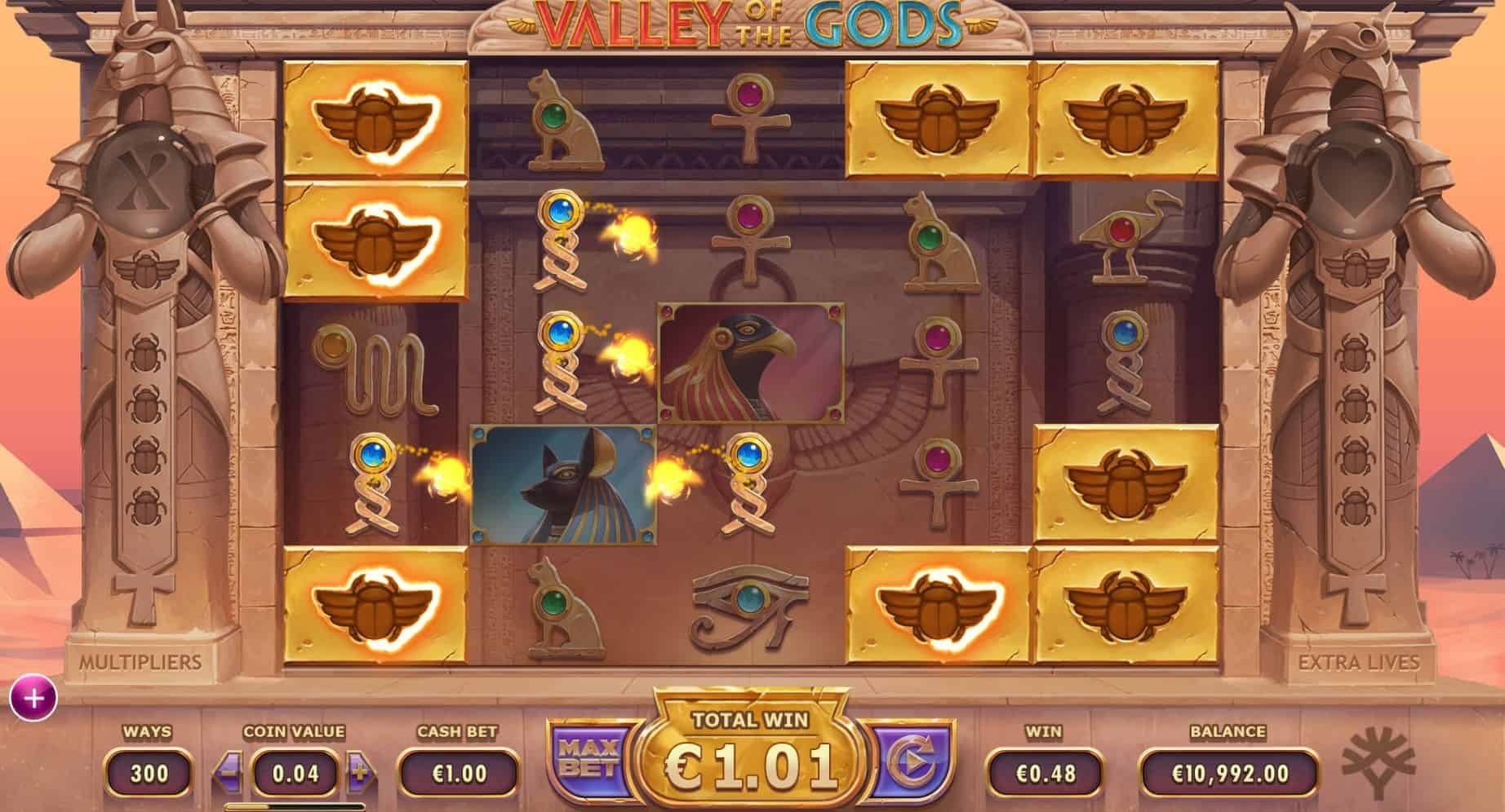 Valley of the Gods Slots Game