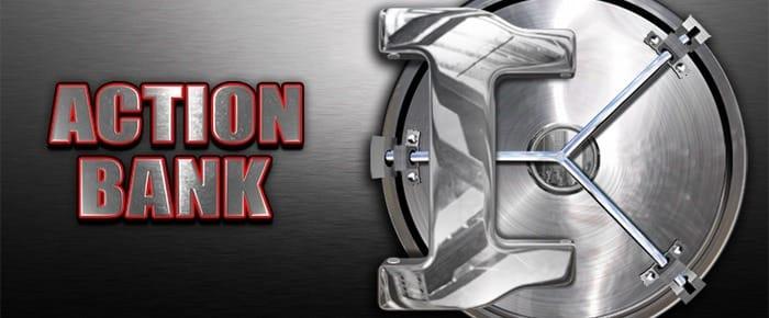 Action Bank Slot Logo Slots Racer