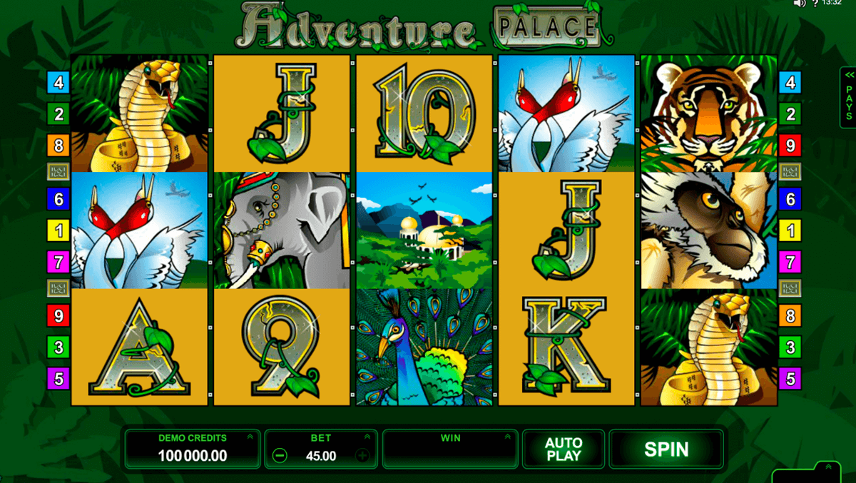 Adventure Palace Free Slots