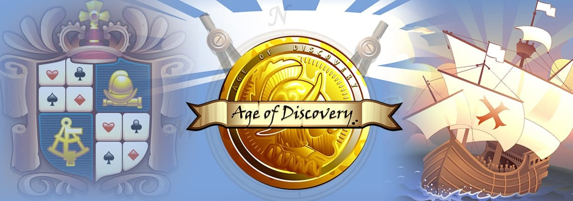 Age of Discovery Slots Racer