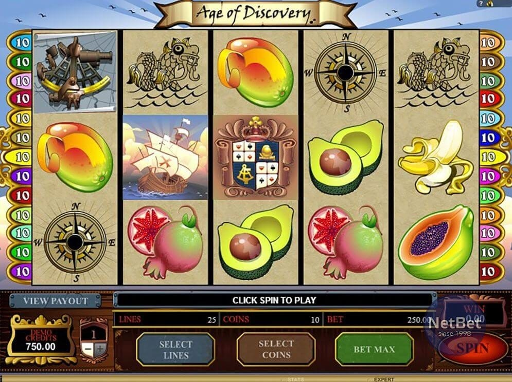 Age of Discovery Slots Online