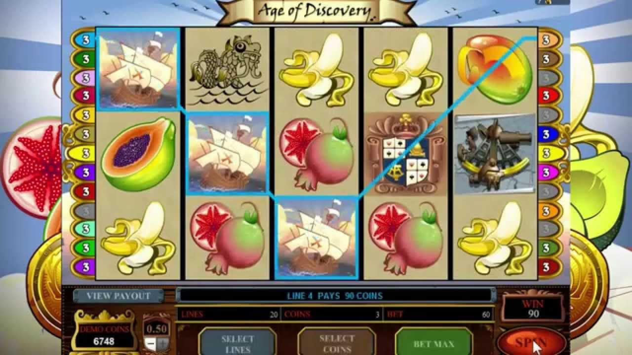 Age of Discovery Slot Game