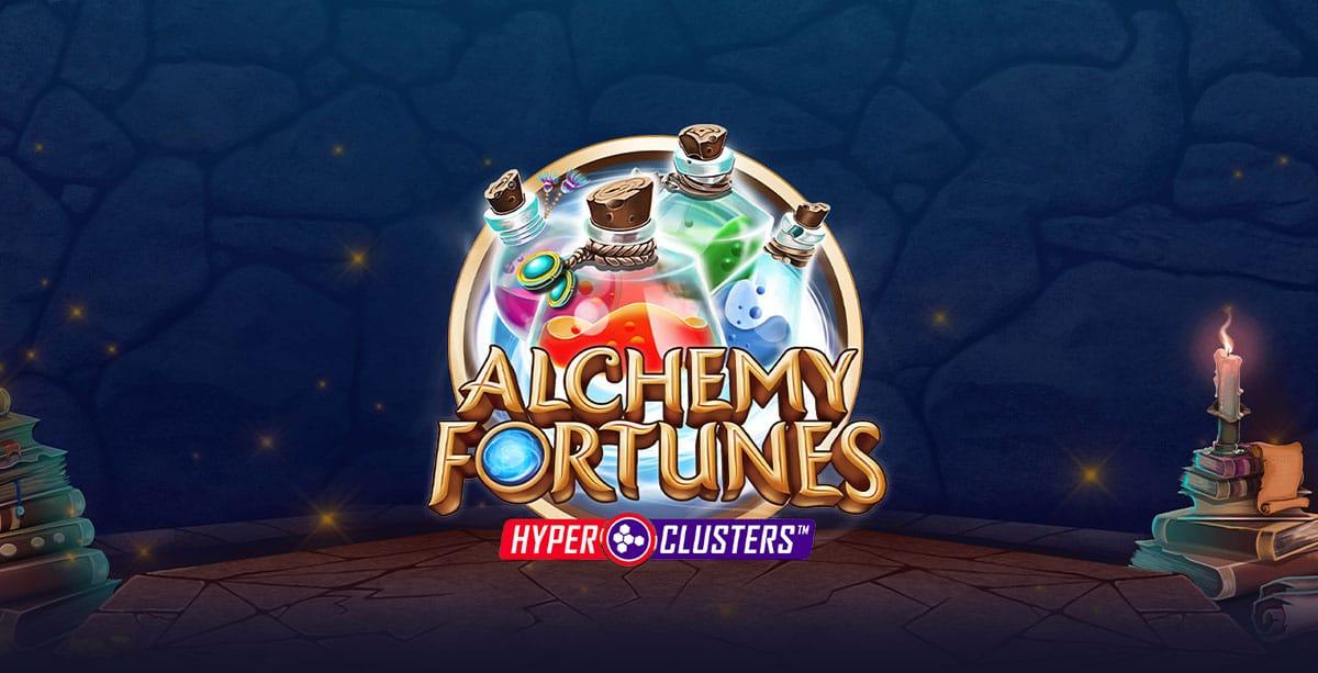 Alchemy Fortunes Slot Logo Slots Racer