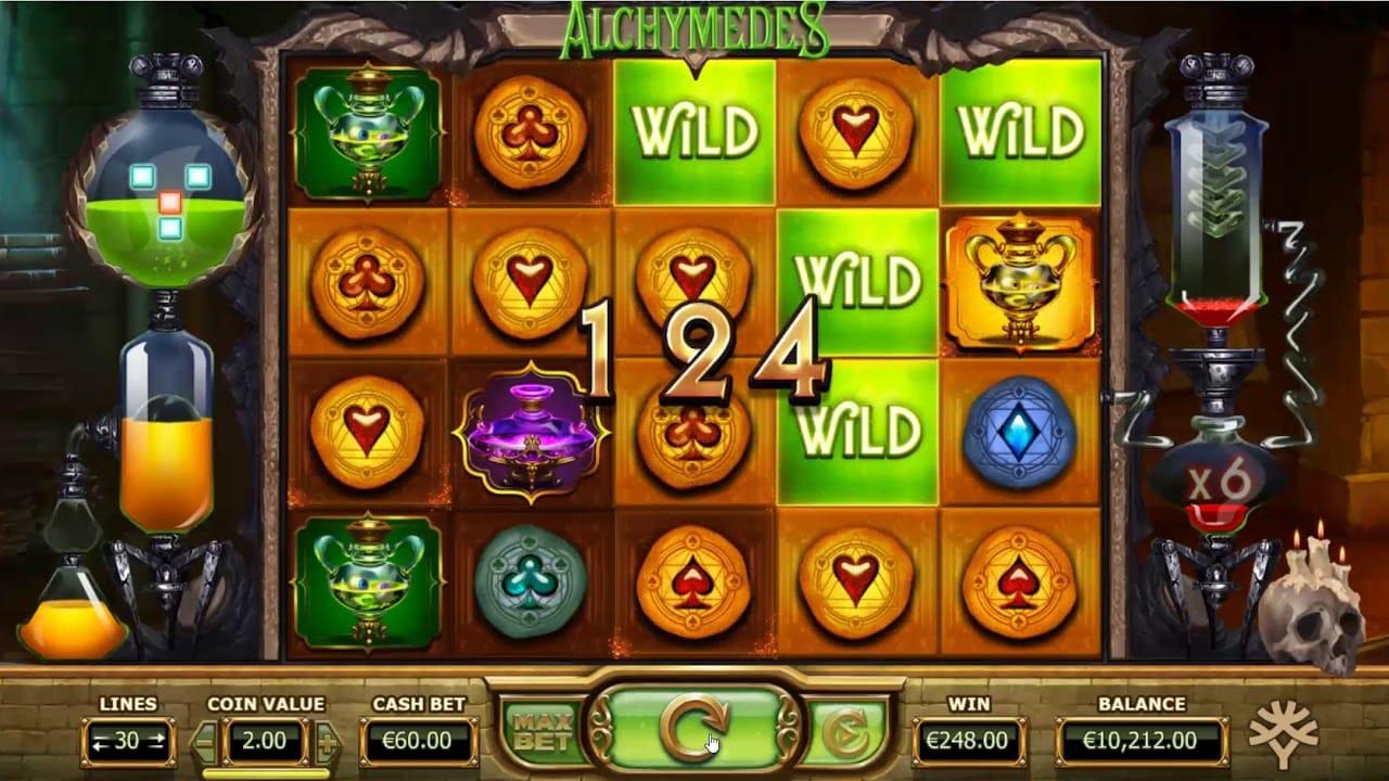 Alchymedes Slot Game