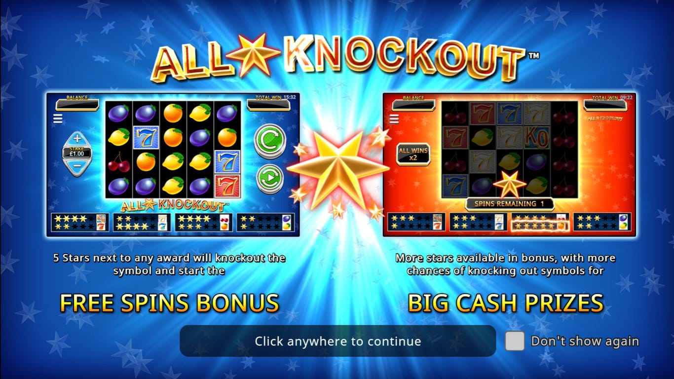 All Star Knockout Slots Bonus Features