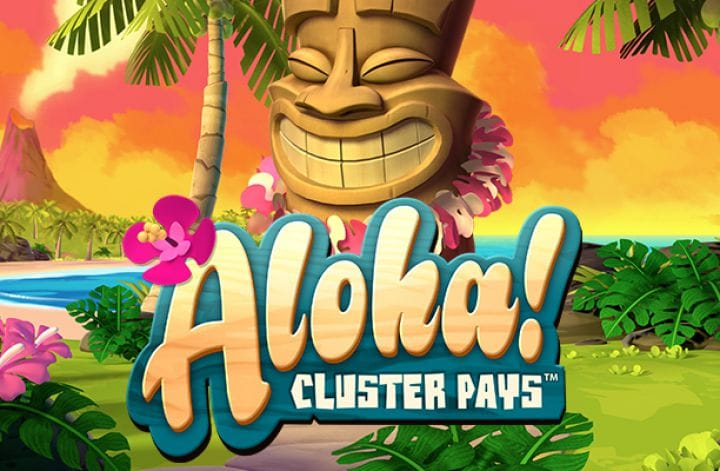 Aloha! Cluster Pays Slot Logo