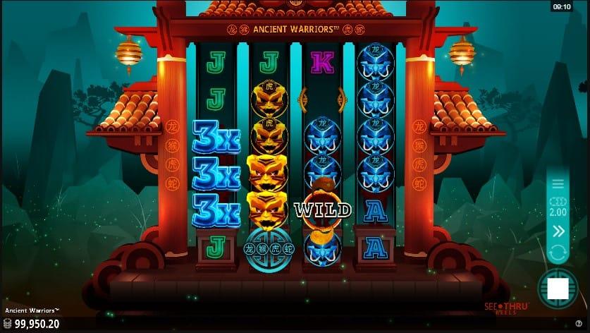 Ancient Warriors Slot Online