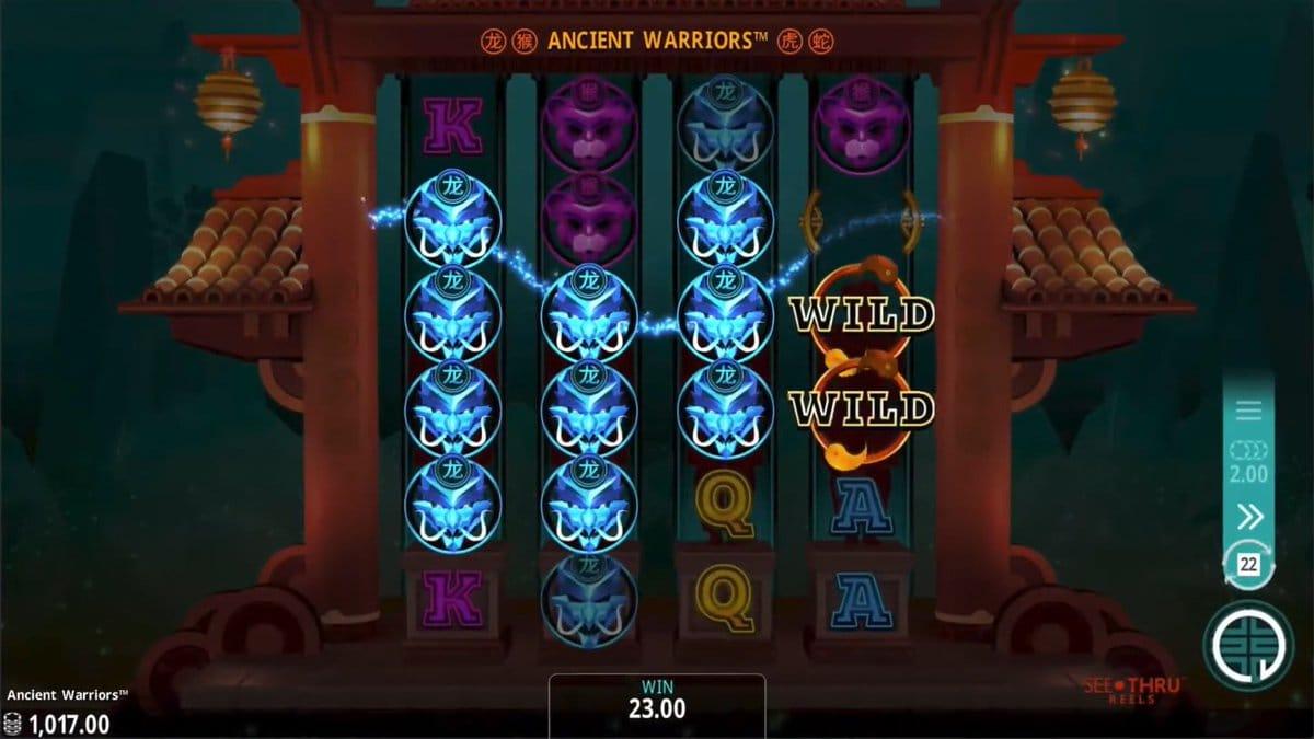 Ancient Warriors Free Slots