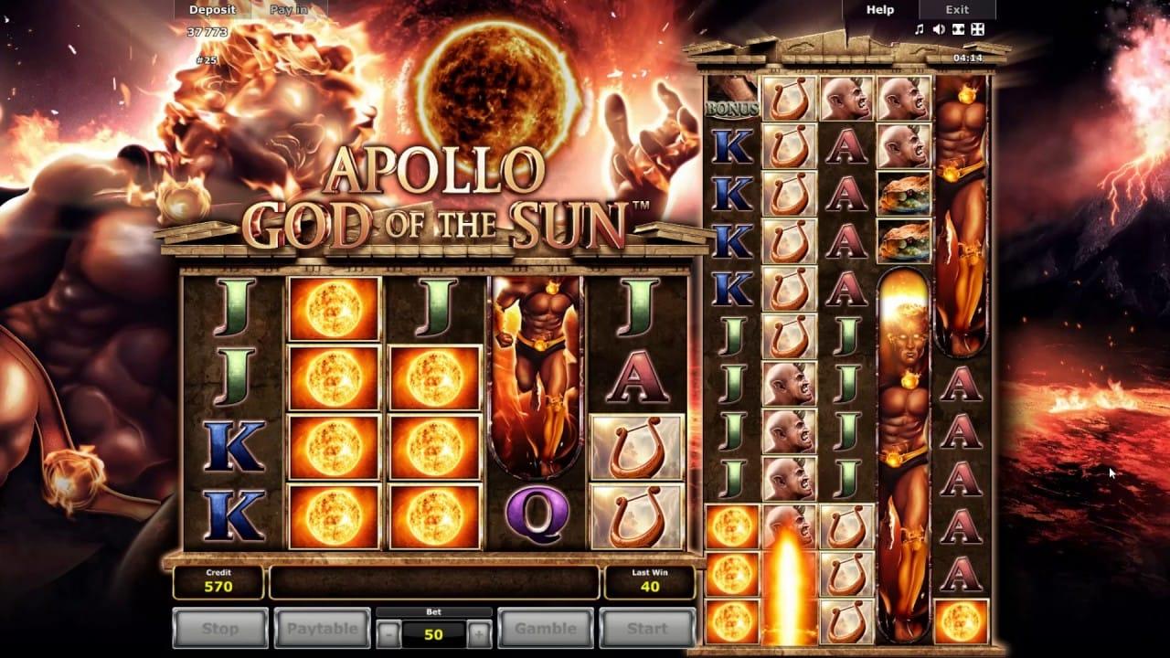 Apollo God of the Sun Slot Gameplay