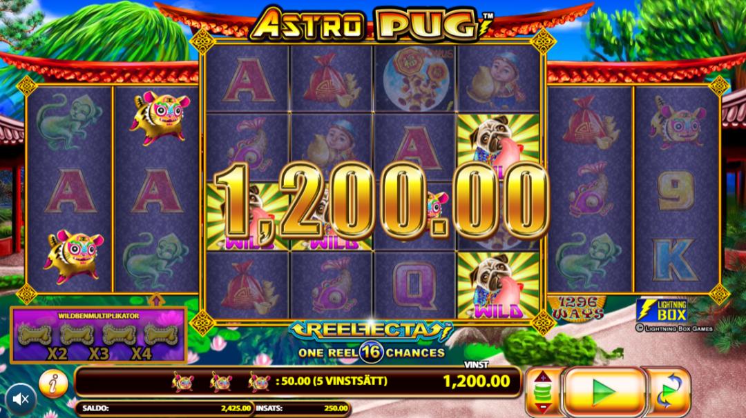 Astro Pug Slot Game