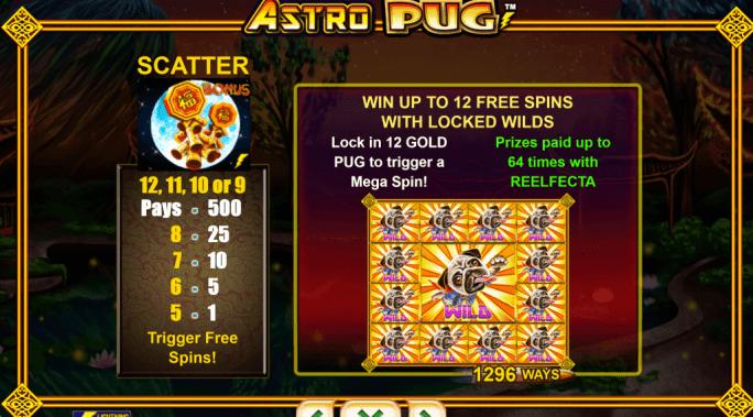 Astro Pug Slots UK