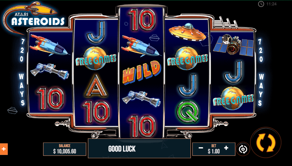 Asteroids Slot Game