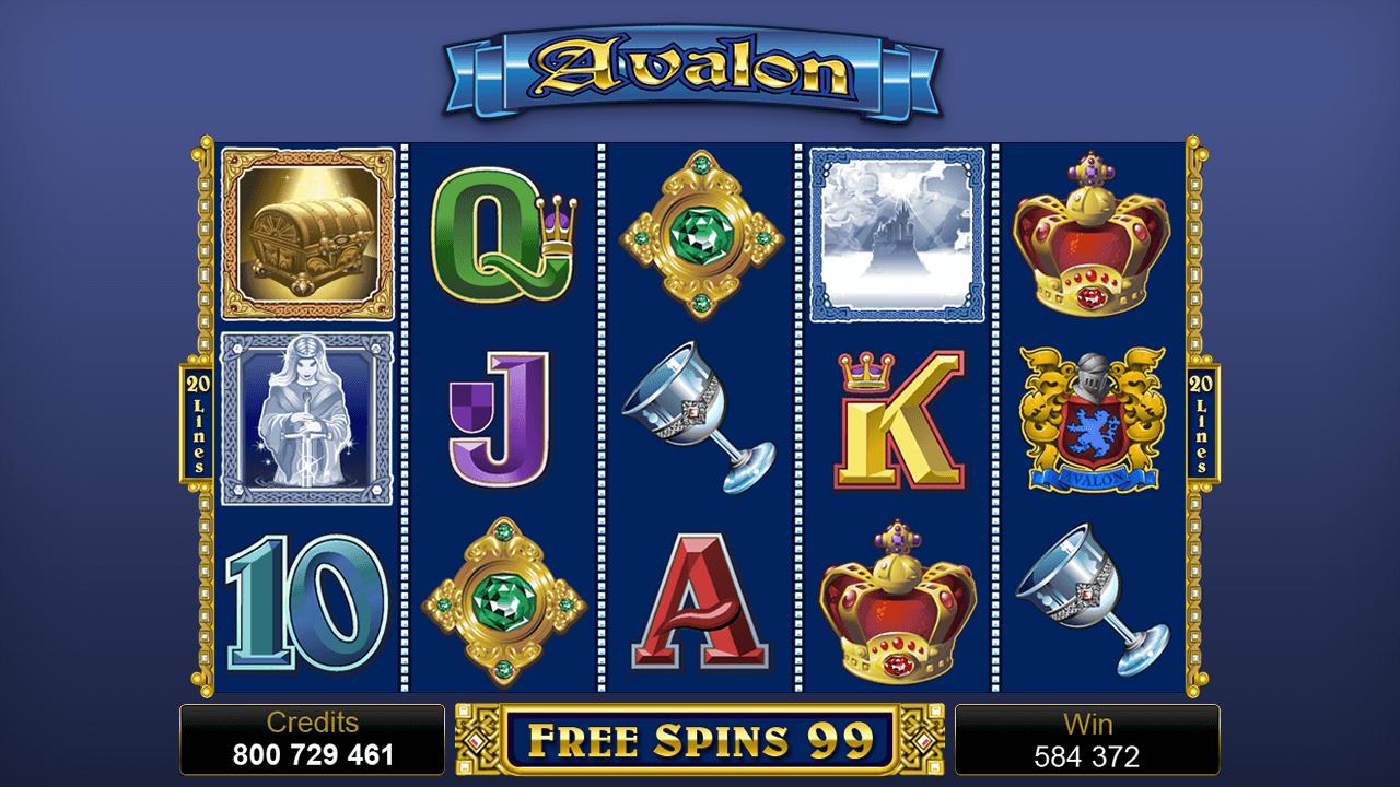 Avalon Slots Game
