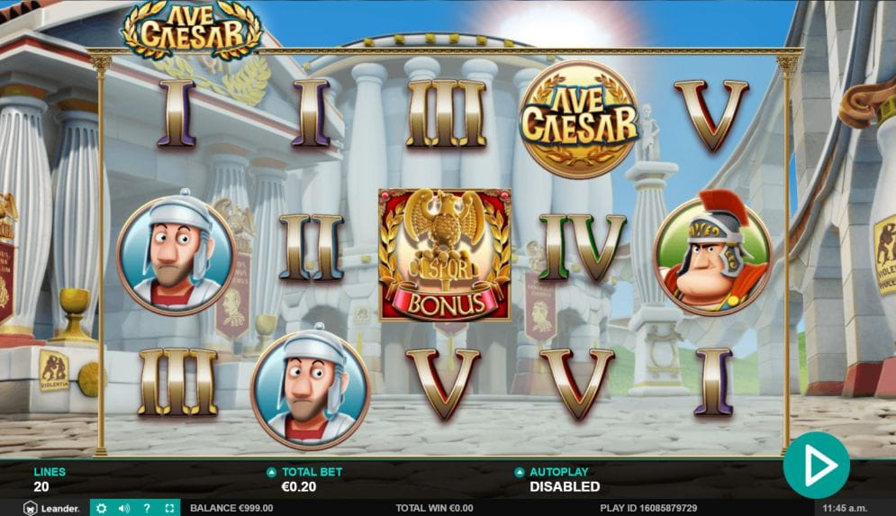Ave Caesar Slot Game