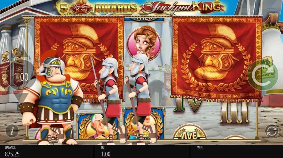 Ave Caesar Jackpot King Slots Online