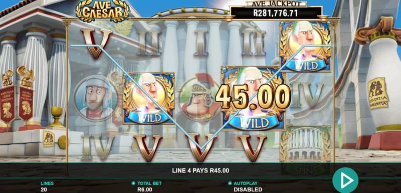 Ave Caesar Free Slots