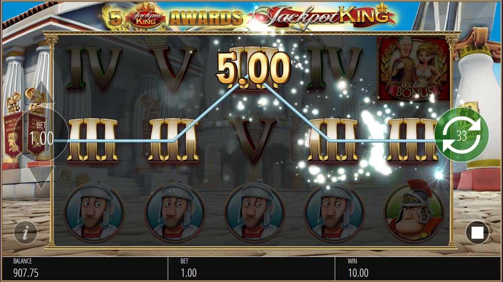 Ave Caesar Jackpot King Slot Game