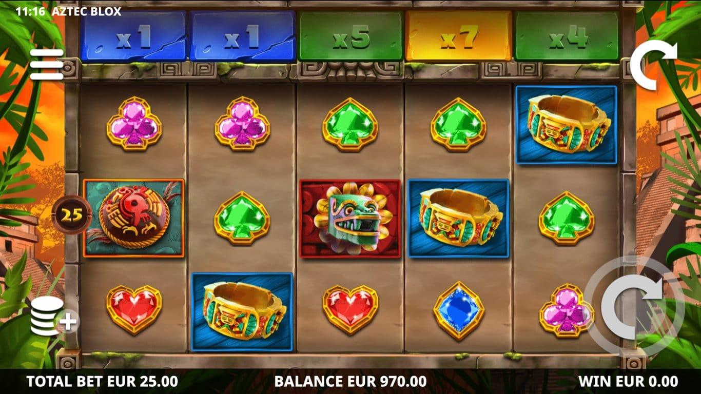 Play Aztec Blox Slots Game