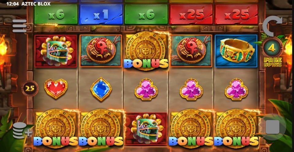 Play Aztec Blox Slot Online