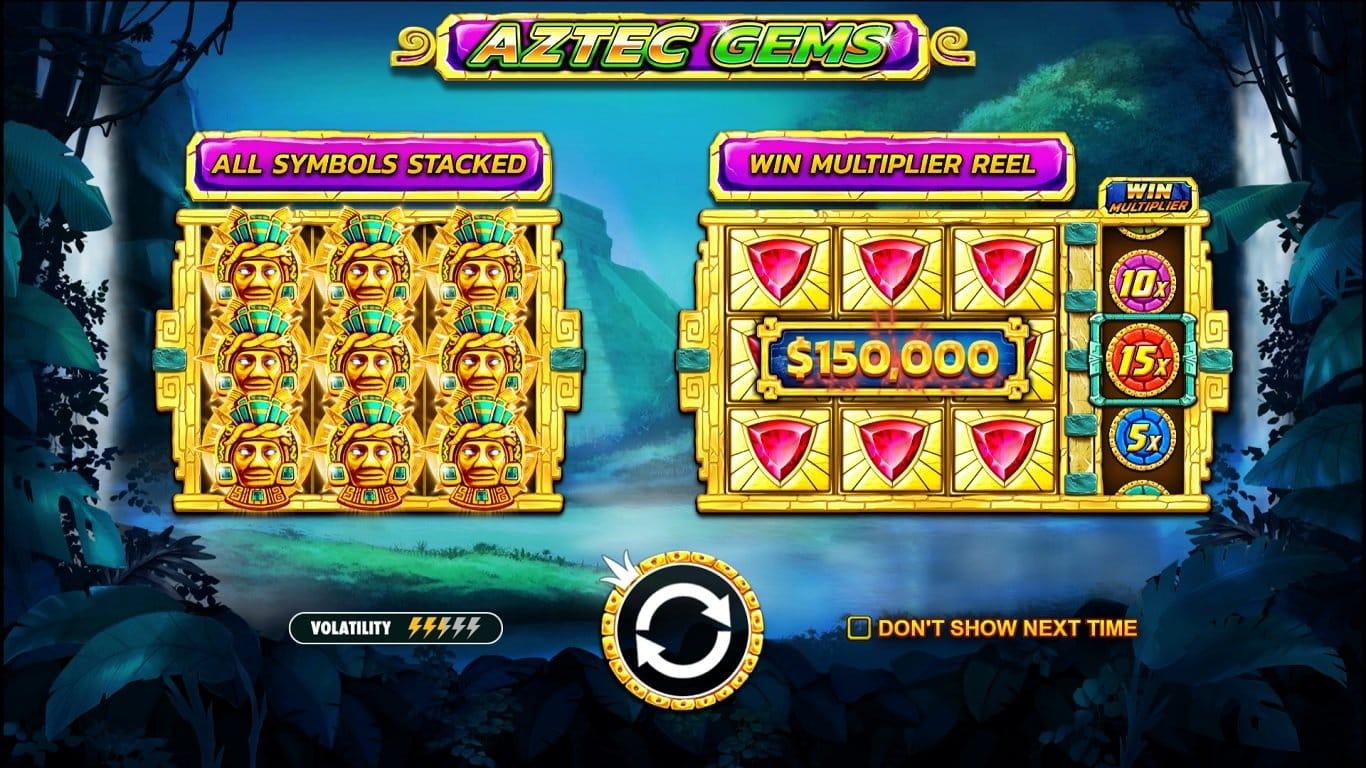 Aztec Gems Deluxe Slot Online