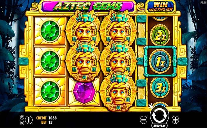 Aztec Gems Deluxe Free Slots