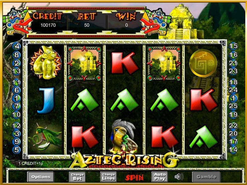 Aztec Rising Slots Casino