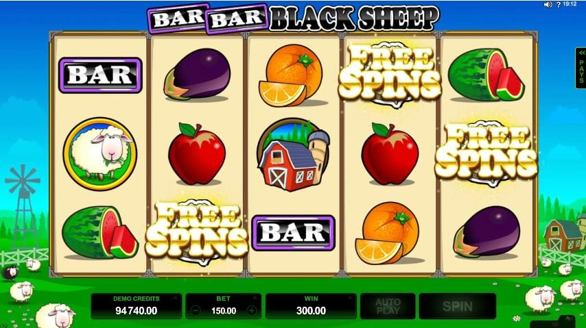 Bar Bar Black Sheep Casino Game Play