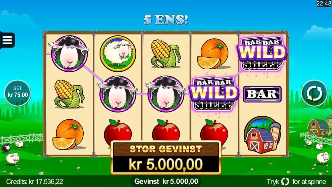 Bar Bar Black Sheep Slots Game