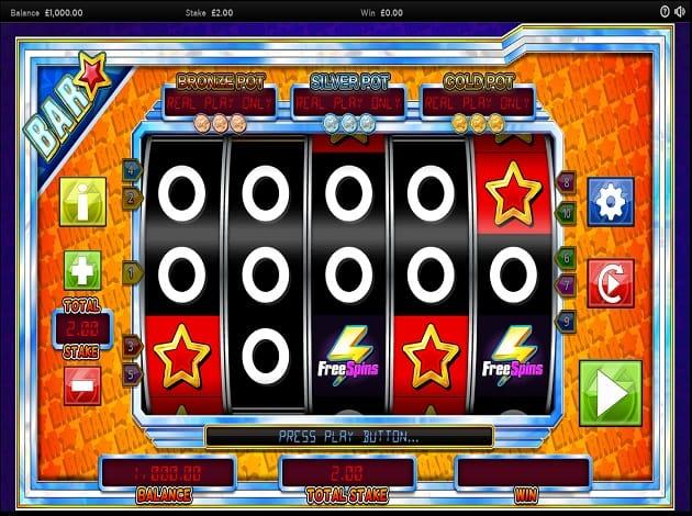 Bar Star Slots UK Casino