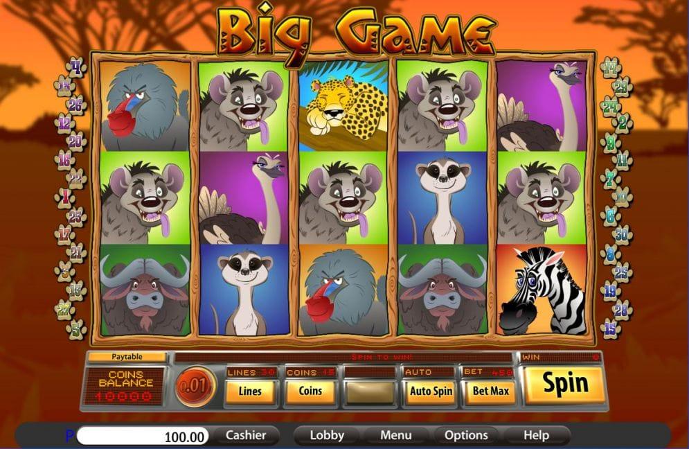 Big Game Slot Online