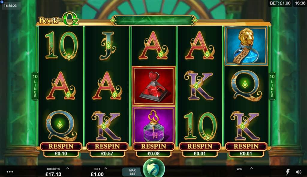 Book of Oz Slots Online